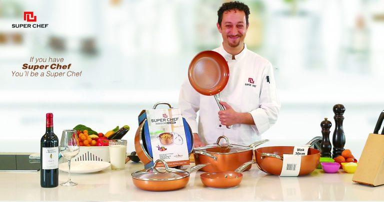 Super Chef mang công nghệ Ceramic Nhật đến gian bếp Việt